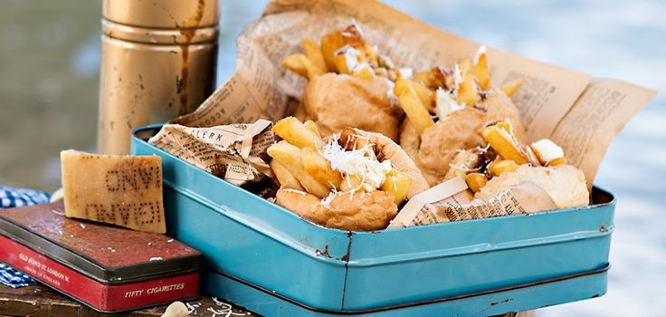 Poutine chip butties