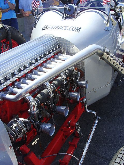 17 best images about vehicle engines radial engine 1936 buick straight eight engine powered one off custom bodied racer engine is