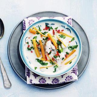 Krämig fisksoppa | hemtrevligt.se/hemmetsjournal | soppa, fisk, vit fisk, fiskfilé,