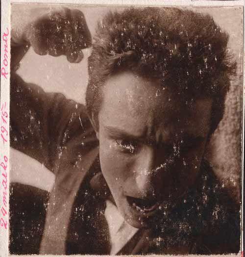 Fortunato Depero - Self-portrait (1915)