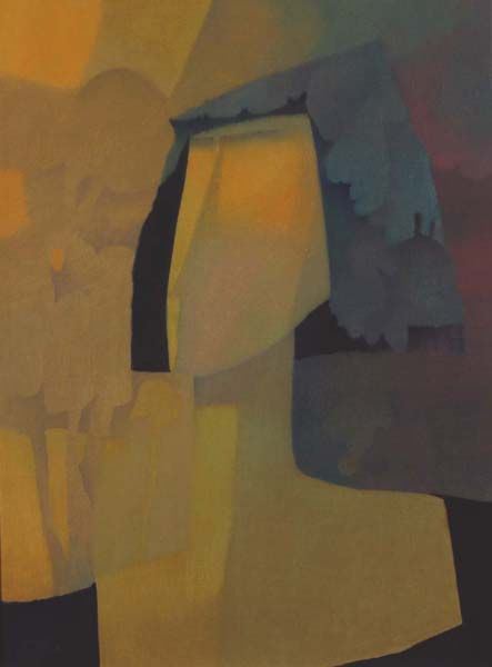 Coiffée de dentelle (c. 1981) - Claude LeSauteur
