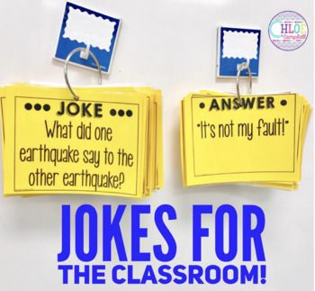 Add humor to your day with these fun classroom jokes! There are 90+ jokes that your students are sure to love.