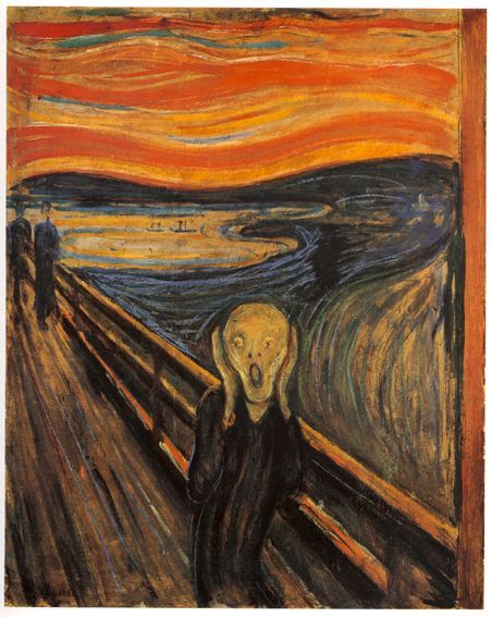 Le cri, Edvard Munch