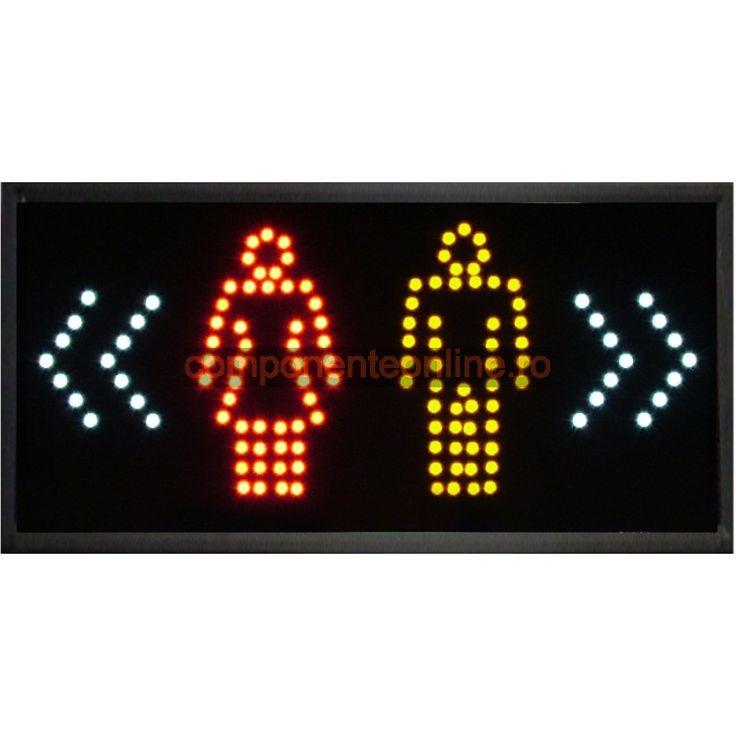 Afisaj cu LED-uri, afisaj Toaleta - 113626