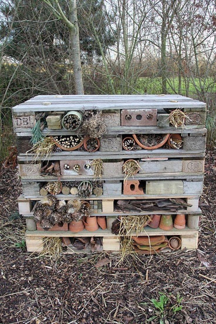 Recycled Brick Bug Hotel