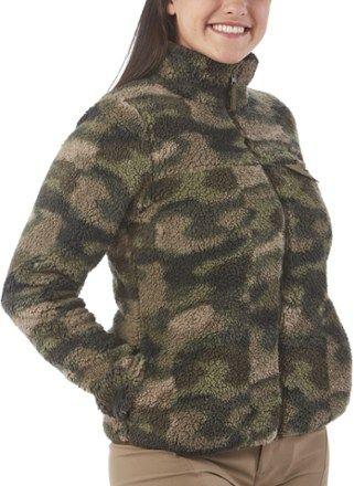 c8683a3ce7c Columbia Mountain Side Heavyweight Full-Zip Fleece Jacket - Women s ...