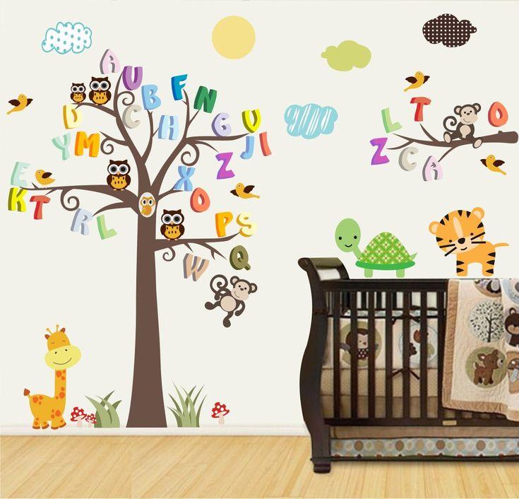 papel de parede quarto infantil animais – Pesquisa…