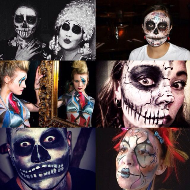 Get your Halloween face painting at my studio! Book at 6049996177