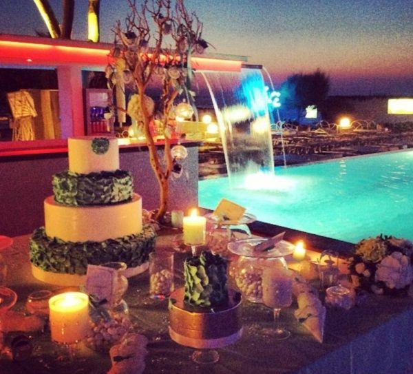 Oltre 25 fantastiche idee su matrimonio elegante su for Candele per piscina
