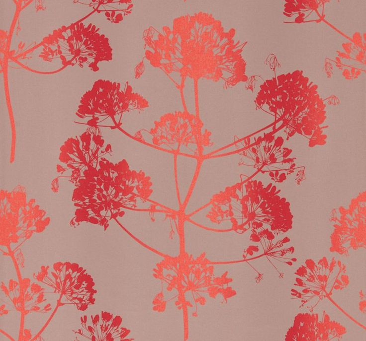 Angeliki Fire / Vermeil wallpaper by Clarissa Hulse