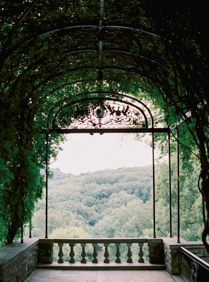 A gorgeous ceremony spot.