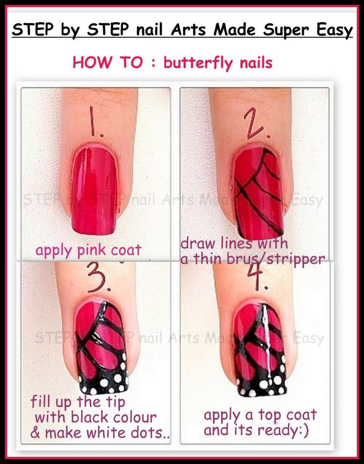 step by step nail arts made super easy