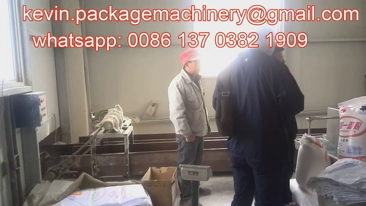 15kg bag automatic flour packaging machine