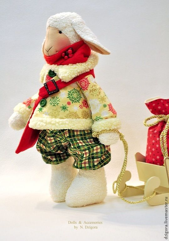 Купить Волшебный Элвин - барашек, барашек игрушка, овечка, овечка игрушка, символ года