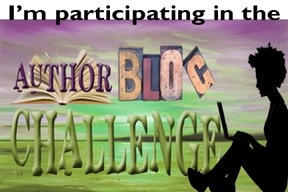 I'm participating in the Author Blog Challenge!    Register: http://authorblogchallenge.com