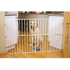 For Large Dogs and Jumpers by Carlson Pet Products!  The Gate People!