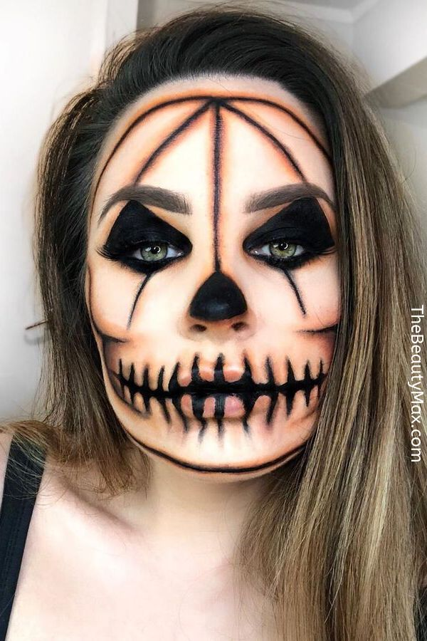 50 tolle Halloween Make-up Ideen & Tutorials   – Tattoo/Henna/Schminke