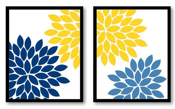 Hey, I found this really awesome Etsy listing at https://www.etsy.com/listing/208592306/instant-download-yellow-blue-navy
