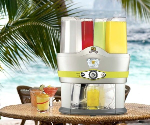 It's the Margaritaville Mixed #DrinkMaker. Try the I Feel Lucky button a super-cool feature that's guaranteed to crank any #party into high gear.