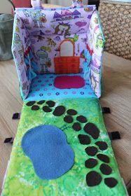 Jane's Girl Designs: A little house