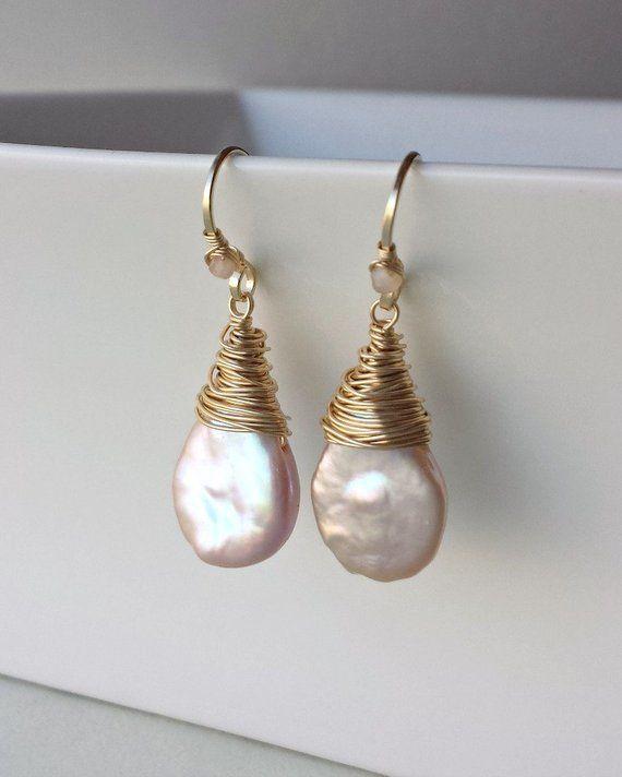 7mm grau Süßwasser Perlen Schmuck Ohrhänger Ohrringe Ohrstecker 925 Silber neu