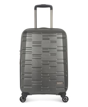 "Antler Prism Embossed Dlx 21"" Hardside Expandable Spinner Suitcase -"