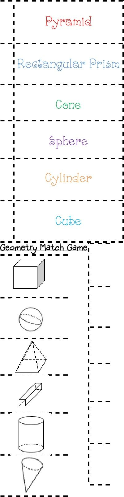 Geometry Match Game