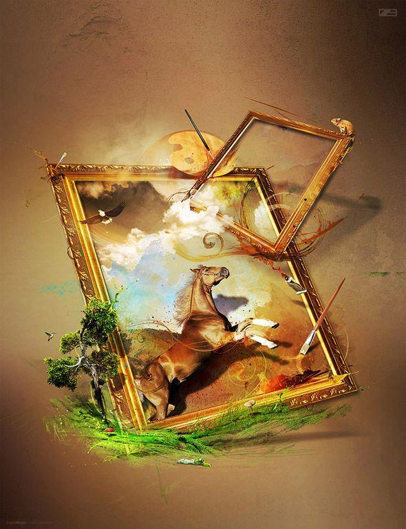 http://www.92pixels.com/amazing-digital-art-and-photomanipulation-by-wojciech-magierski/