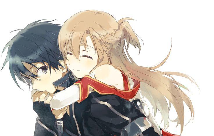 Kirito x Asuna. Sword Art Online. SAO