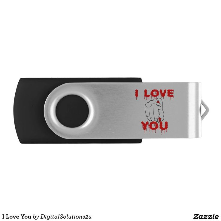 I Love You USB Flash Drive