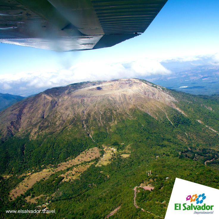 #8vamaravilla #elsalvadortravel #turismo Volcán de Santa Ana y Lago de Coatepeque