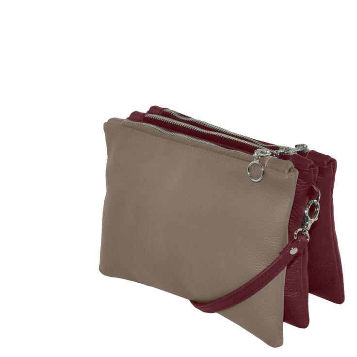 FUN BAG #ecofashion #fairfashion #designerhandbags #springcollection #upcycling #fashion #taupeblack