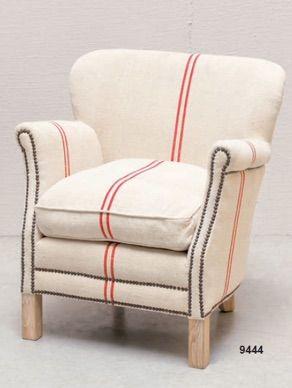 Poltrona in lino - Linen armchair http://www.griffegenova.com/Griffe_Home/Divani_pint_new.html