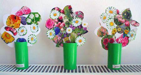 Zeitvertreib/Blumenstrauss-Papierblume2