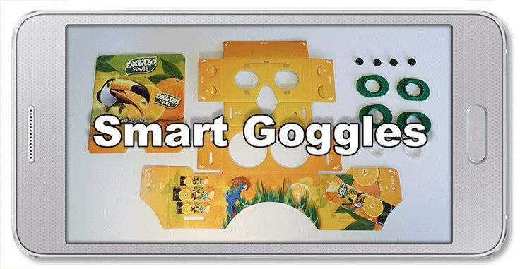 Smart Goggles (assembly instruction) http://raster.eu/goggles.html