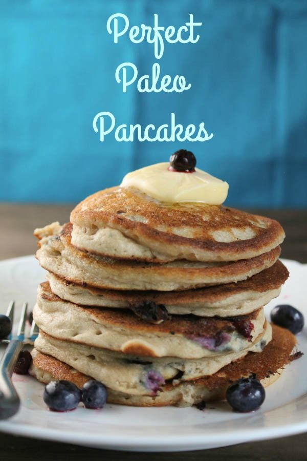 These Perfect Paleo Pancakes are a nutrient dense, grain-free alternative with healthy fats and protein to offer my kiddos as a nourishing school send-off. They make a great breakfast or breakfast for dinner!