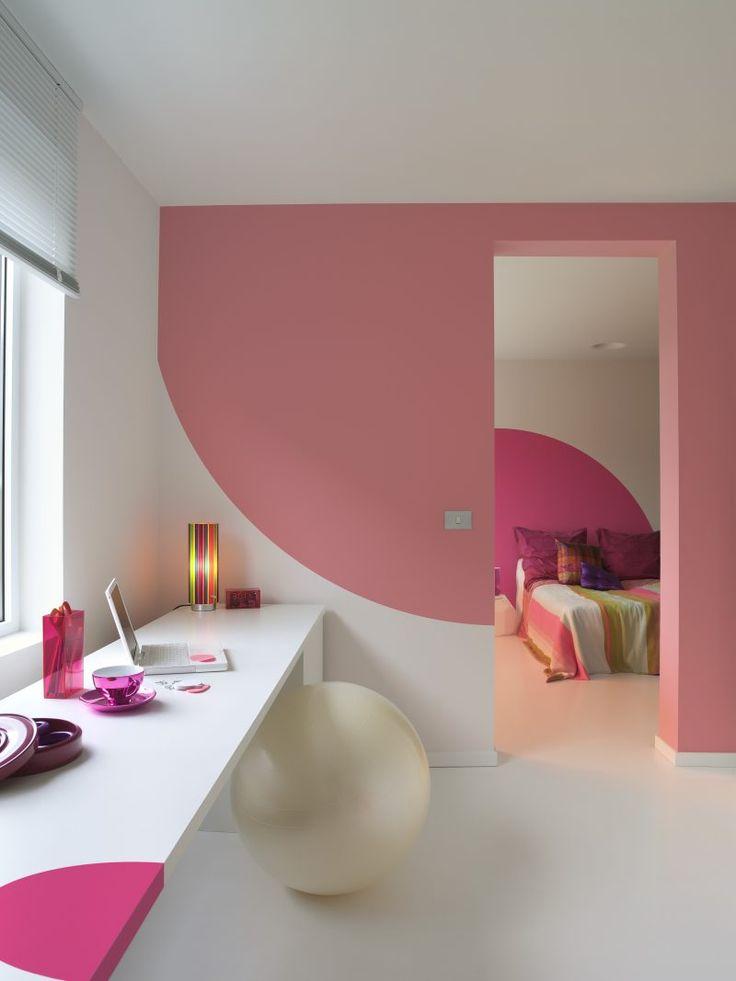 126 besten Wanddesign Ideen Bilder auf Pinterest Wandverkleidung - wanddesign streichen