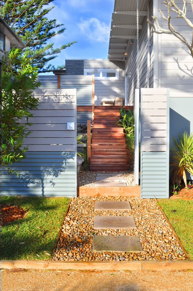 Entry to tropical garden