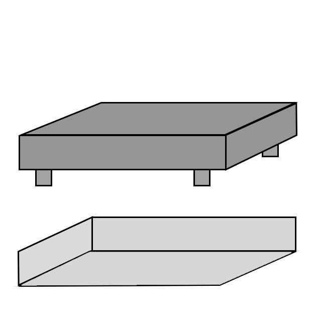 Lagner i bomuldssatin, hvide - f.eks. Zelection - fra hometex