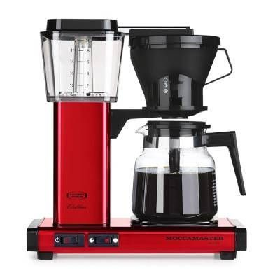 Technivorm Moccamaster Coffee Maker, Red - Williams-Sonoma - $330 - domino.com