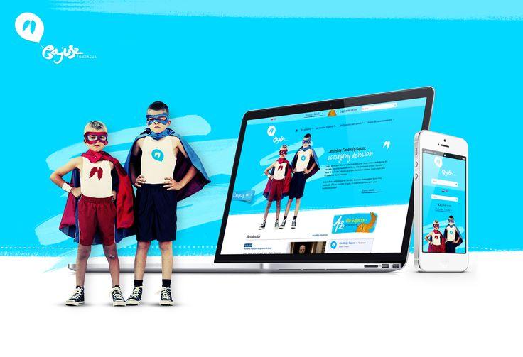 Webiste made for Gajusz. Support Gajusz's children at www.gajusz.org.pl #gajusz #rwd #responsive #webdesign #responsivewebdesign #synkro #wearesynkro #mobile #design #ipad