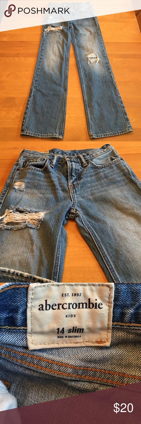 Boys Abercrombie Kids Slim Jeans Abercrombie Kids SLIM jeans abercrombie kids Bottoms Jeans