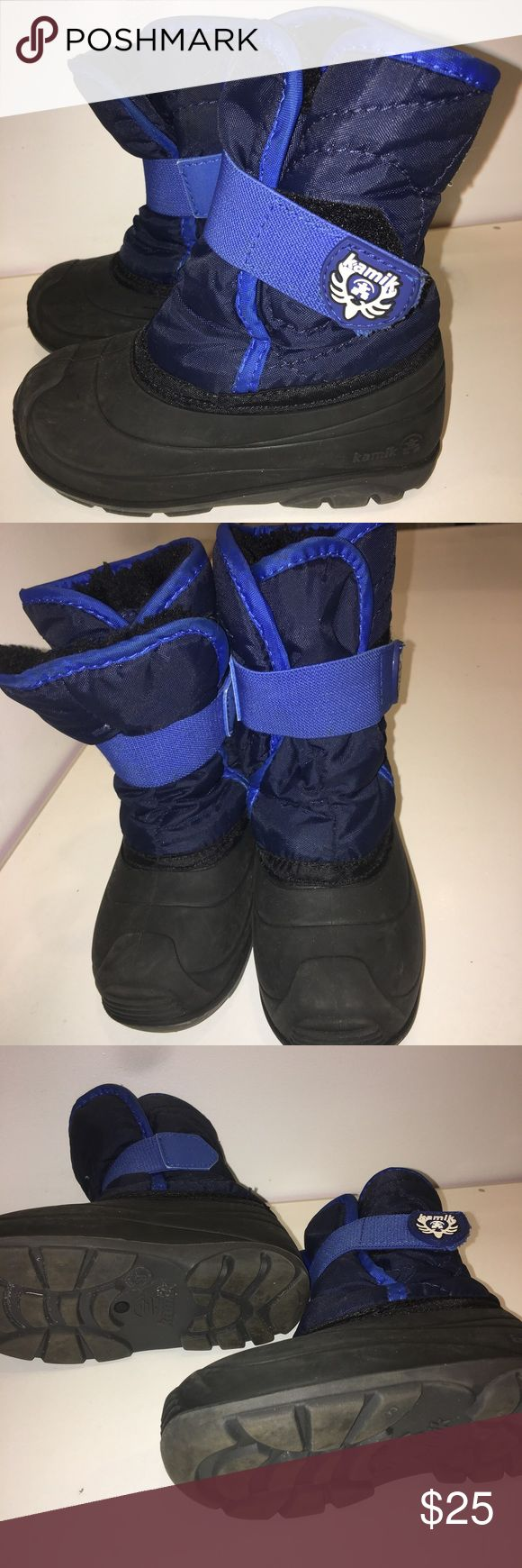 Kamik winter boots size 9. Only worn a few times. Kamik winter boots size 9. Only worn a few times.  Great condition.  One season Kamik Shoes Boots