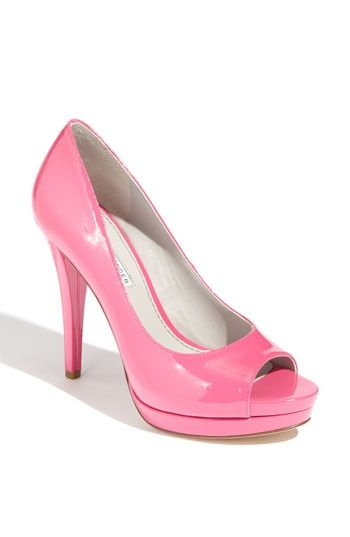 Vera Wang Lavender Selima Pump pink platform heels Love Heels |2013 Fashion High Heels|