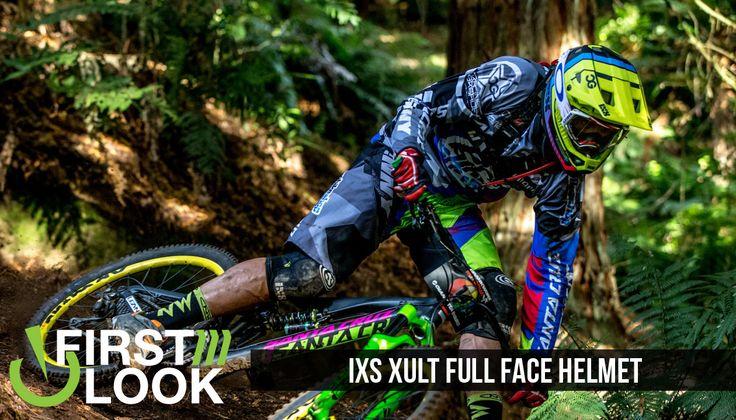 VitalMTB First Look: iXS Xult Full Face Helmet: Light-weight, breathable yet fully protective.
