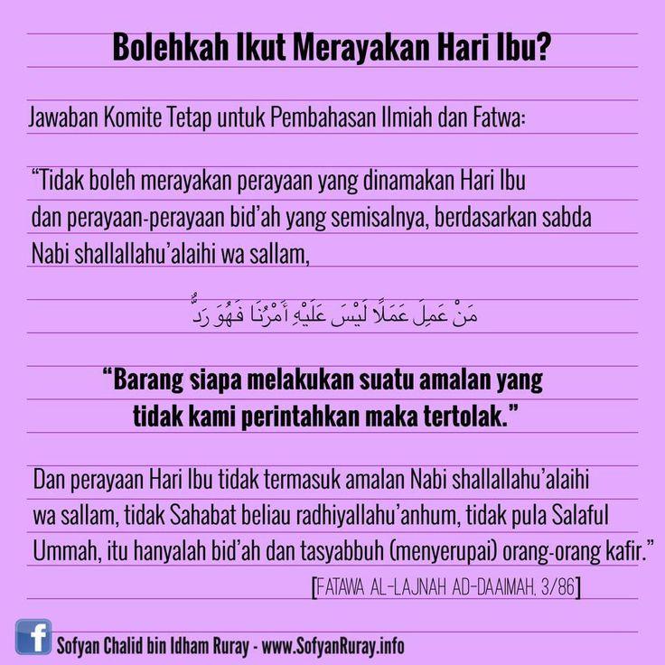 Follow @NasihatSahabatCom http://nasihatsahabat.com/hari-ibu-setiap-hari-bukan-setahun-sekali/  #nasihatsahabat #mutiarasunnah #motivasiIslami #petuahulama #hadist #hadits #nasihatulama #fatwaulama #akhlak #akhlaq  #salafiyah #Muslimah #adabIslami #sunnah #ManhajSalaf #Alhaq  #dakwahsunnah #Islam   #sunnah  #alquran #salafy #hariibu #MothersDay #fatwaulama  #bidah, #perayaan, #merayakan, #birrulwalidain #birulwalidain #baktiorangtua #berbaktikepadaorangtua #orangtua #baktiibutigakali