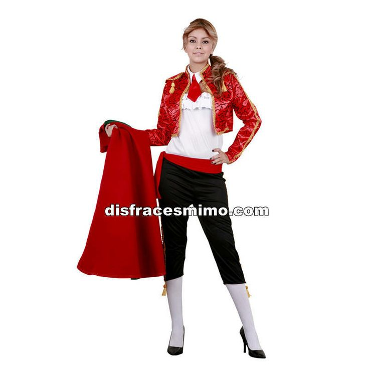 DisfracesMimo, disfraz de torera adulto para mujer.El realismo de este traje de luces te hará brillar en Fiestas de Disfraces, Carnavales o en Celebraciones como las Despedidas de Soltero.
