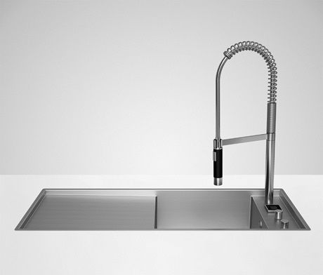 42 best Eviers images on Pinterest Angles, Black sink and Kitchens - evier cuisine ceramique a poser