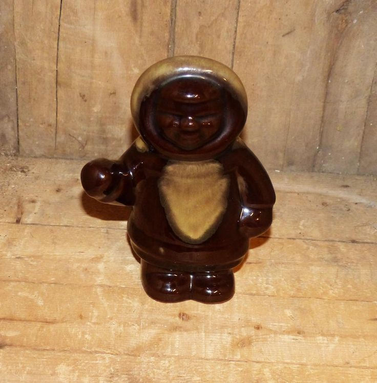 Grand River Pottery Inuit - 1410 by WildroseHeaven on Etsy