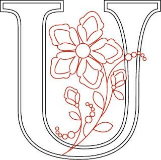 Shawkl: Five Petal Monogram